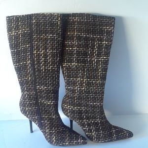 Wild rose Nira28 knee high boots